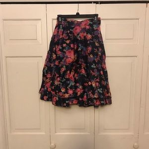 ModCloth Double-Layer Full Skirt - EUC.